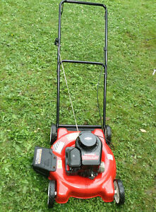 Yard machines gas lawnmower