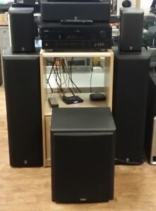 COMPLETE YAMAHA NATURAL SOUND HOME THEATER SYSTEM