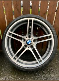 2x 313 19 inch geniune bmw alloy wheels bbs