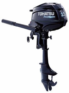 2.5hp Tohatsu Outboard with 5 Year Warranty at JS Prop