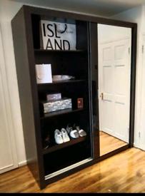 💖💖 BRAND NEW MODERN 2 & 3 DOORS MIRRORED SLIDING WARDROBES, LED OPTI