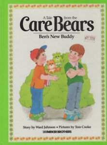Vintage 1984 Care Bears Ben's New Buddy Illustrated Kid's Book