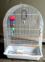 Bird Cage in a Box with Accessories for Sale