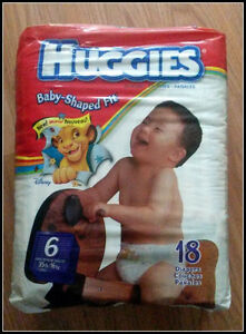 Will pay for old diapers (luvs,huggies,pampers,goodnites) Prince George British Columbia image 2