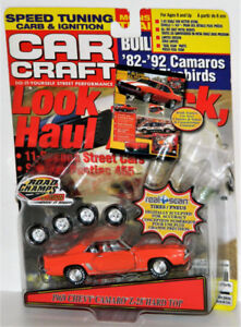 Road Champs 1/43 1969 Chevy Camaro Z-28 Hard Top Diecast Car