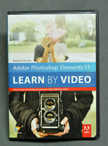 Photoshop Elements 11, Tuition Video PRICE REDUCED