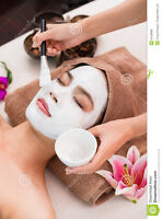 only $68 gold facial+full body scrub with steam+fullbody massage
