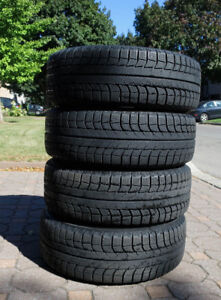 4 Michelin X-ICE Winter Tires 205/65/R15 Rims Toyota Camry 02-06