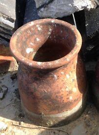 Reclraimed Terracotta Chimney Pot