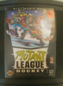 Mutant League Hockey Sega Genesis
