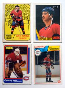 Rookie card, Canadiens de Montréal