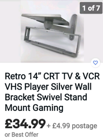 Old style TV wall mount