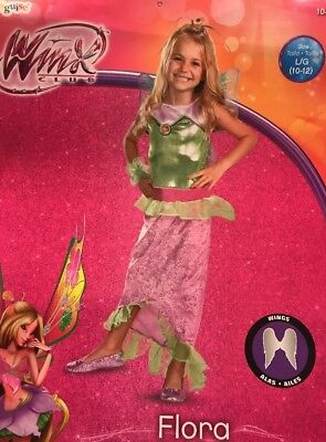 Winx Club Flora Costume Girl - Winx Club Kostüm