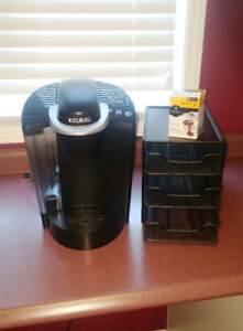 KEURIG K50 **INCLUDES MY K-CUP AND 3-DRAWER K-CUP STORAGE UNIT