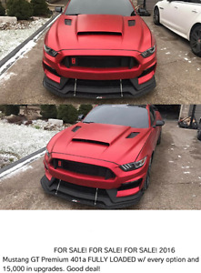 2016 Mustang GT Premium 401a FOR SALE
