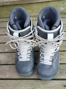 LTD Women's Charcoal Snow Boarding Boots - size 9/40