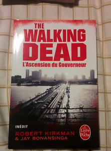 "URGENT 3 LIVRES DE POCHE ""THE WALKING DEAD"""