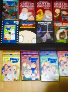 15 Family Guy Dvds  in excellent condition . Play flawless