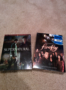 Firefly and Supernatural season 1 DVD