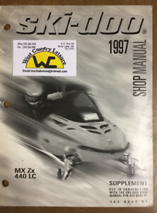 SKI-DOO 97 MXZ SHOP SUPPLEMENT