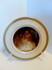"DANBURY MINT BEAUTIFUL DECORATIVE CHRISTMAS PLATE ""THE NATIVITY"""