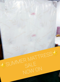🌟BRAND NEW NATURAL BAMBOO FABRIC ORTHO MATTRESS🌟 ON SALE! CALL NOW!