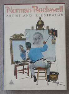 Norman Rockwell Artist And Illustrator - 1970 First Edition