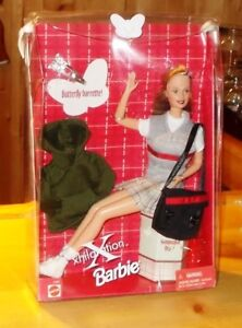 1999  BARBIE  XILERATION  DOLL  SET  WITH  BUTTERFLY  BARRETTE