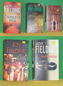 Lot of 5 Joy Fielding  Paperback Pocket Novels