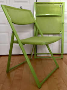 4 Indoor/Outdoor Folding Chairs BRAND NEW + Many other items