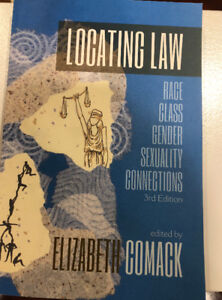 Locating Law: 3rd Edition ( Elizabeth Comack)