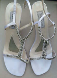 White Satin Shoes and Clutch