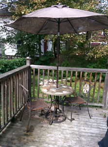 Bistro patio set