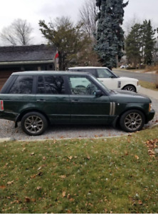 2004 Range Rover for the RR Lover. SOLD! to the perfect couple