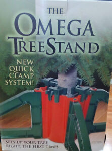 THE OMEGA TREE STAND FOR CHRISTMAS TREE MADE IN CANADA
