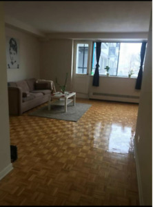Beautiful 3 1/2 Apartment for a lease transfer in Cote Saint Luc