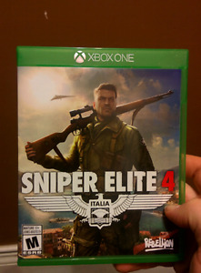 Sniper Elite 4 for Xbox One Mint
