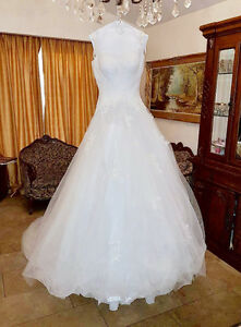 Robe de mariage haute couture / high couture wedding dress