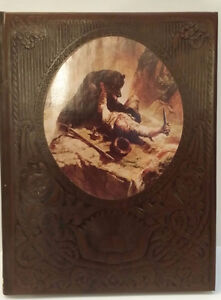 THE FRONTIERSMEN - Time Life Old West Series Embossed Leatherett