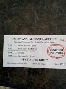 FSI annual dinner/auction tickets