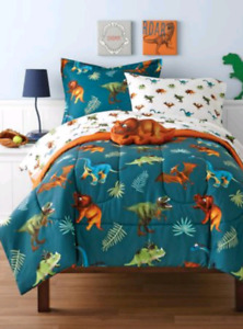 Dinosaur double bed bedding