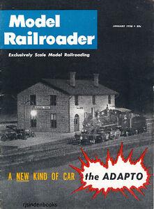 MODEL RAILROADER MAGAZINE 1958- COMPLETE YEAR