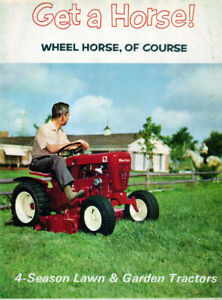 1963 Wheel Horse tractor