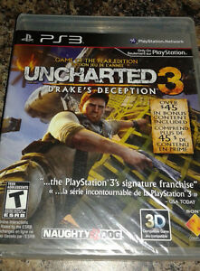 PS3 UNCHARTED 3 GAME OF THE YEAR EDITION NEW