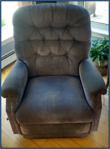 Lazyboy fabric covered rocker/recliner