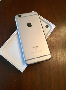 iPhone 6S Space Grey 64gb (Unlocked with accessories)