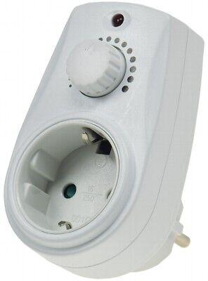 Steckdosendimmer Helligkeitsregler Steckdosen-Dimmer 20-280 Watt stufenlos