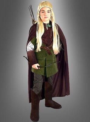 egolas Kostüm für Kinder Grösse S-122 (Kinder Legolas Kostüm)