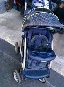 Graco Stroller $30 and $10 for rain cover Kingston Kingston Area image 1