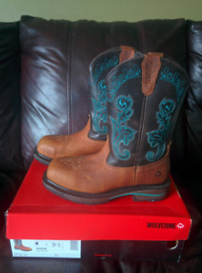 Steeltoe cowgirl boots for sale